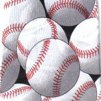 ネクタイ 野球 <B>
