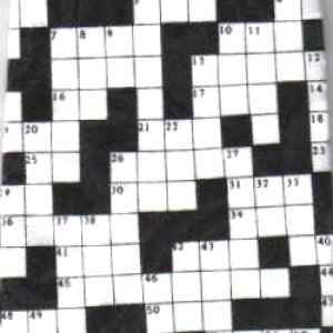 画像1: ネクタイ クロスワードパズル  <A>
