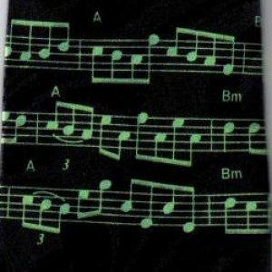 画像1: ネクタイ 音符 <M>