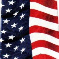 ネクタイ 星条旗 アメリカ国旗  <B>