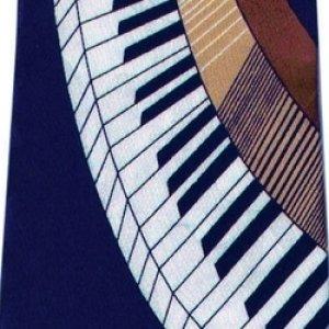 画像1: ネクタイ ピアノ <B>