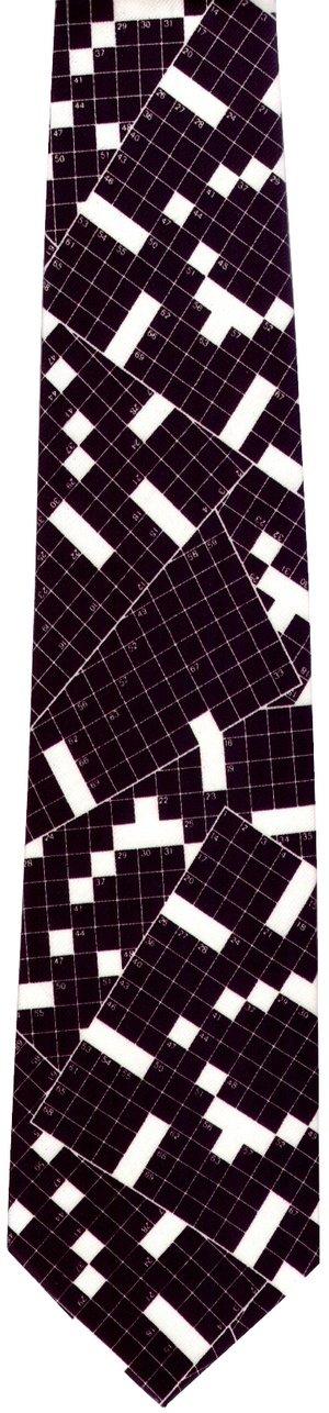 画像2: ネクタイ クロスワードパズル  <B>