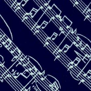 画像1: ネクタイ 音符 <W>