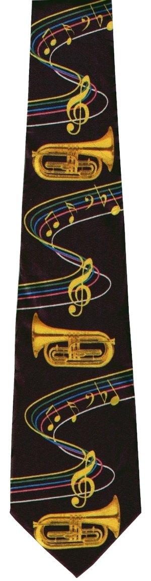 画像2: ネクタイ ユーフォニアムと音符