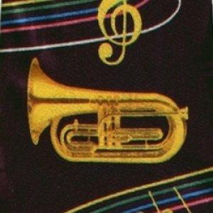 画像1: ネクタイ ユーフォニアムと音符