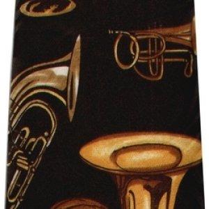 画像1: ネクタイ 金管楽器 <B>