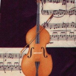 画像1: ネクタイ バイオリン <C>