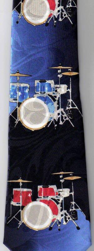 画像2: ネクタイ ドラム <B>