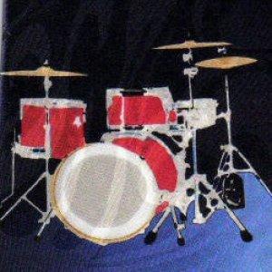 画像1: ネクタイ ドラム <B>