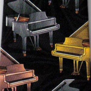 画像1: ネクタイ グランドピアノ