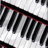 ネクタイ 鍵盤 <赤>