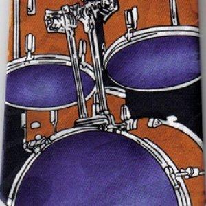 画像1: ネクタイ ドラム <E>