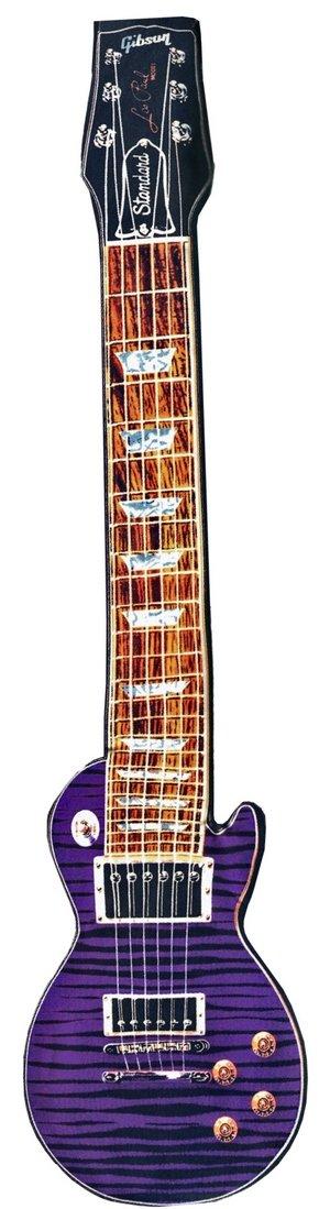 画像2: ギター型ネクタイ レスポール パープル