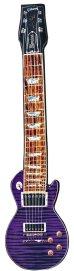 画像2: ギター型ネクタイ レスポール パープル (2)