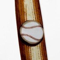 野球バット型ネクタイ (シルク)