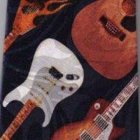ネクタイ ビンテージギター <A>