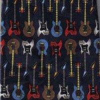 ネクタイ ビンテージギター <B>